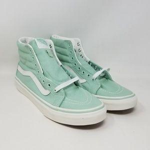 Vans Sk8-Hi Slim Gossamer Green Sneakers Men's 7.5
